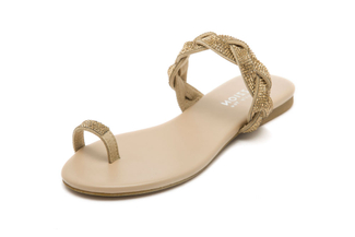 1081-2 Almond Diamante Sandal