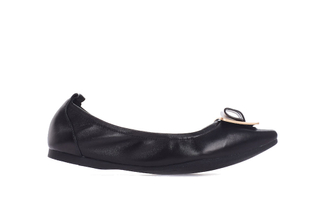 1318-212 Black Ornament Flats