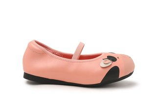"BB7601-7 Pink The ""Baby Moo"" Flats"
